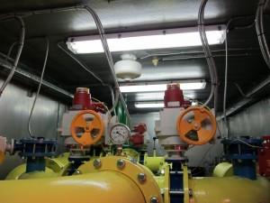 модульная дегазационная установка, шахта Юбилейная1